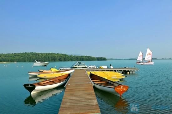 Hồ Đại Lải là một điểm mới nổi trong những khu du lịch nghỉ dưỡng