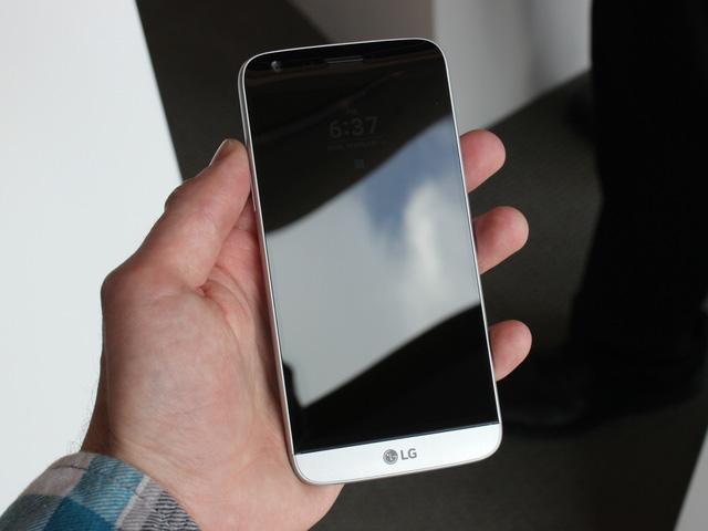 Mẫu điện thoại LG G5 được giới chuyên môn đánh giá cao