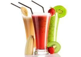 sinh tố làm tăng cân