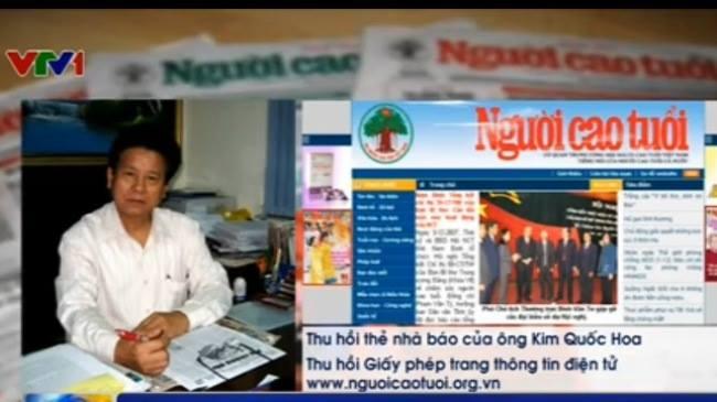 Tin tức mới cập nhật hôm nay đề cập đến Việc tạm dừng công tác Tổng biên tập Báo Người Cao Tuổi