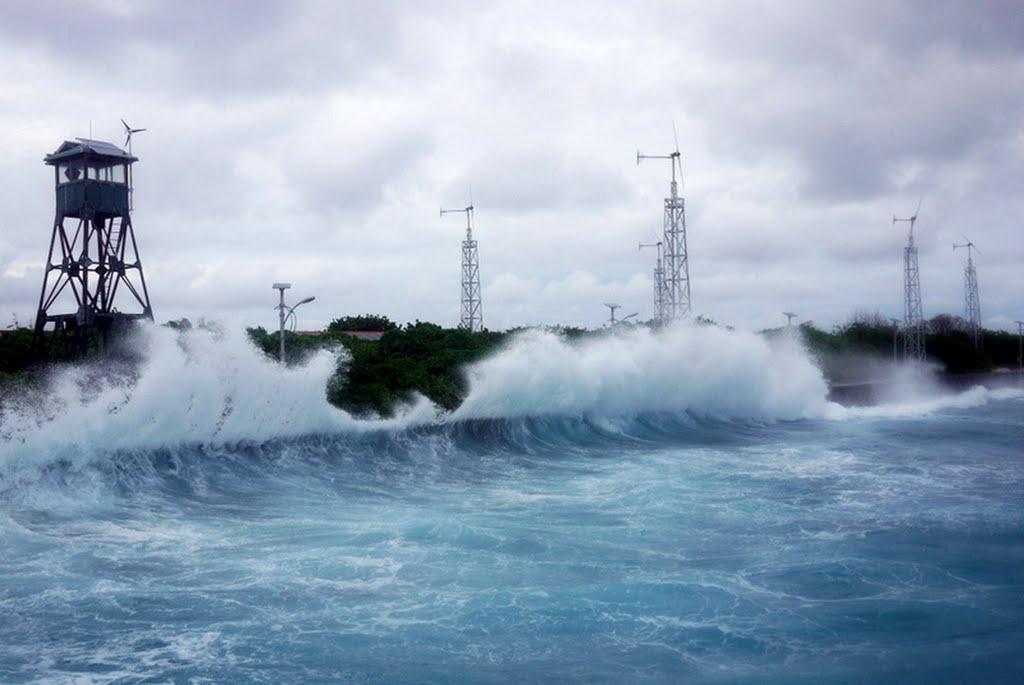 Dự báo thời tiết hôm nay 29/12 trên biển  có gió lớn và sóng mạnh với cường độ bằng áp thấp nhiệt đới