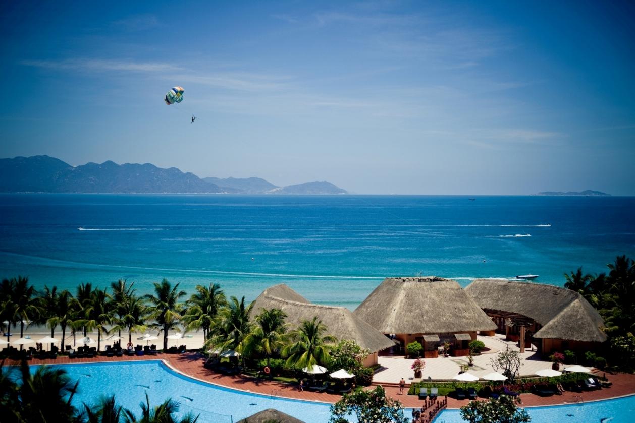 Tại Nha Trang có nhiều resort nổi tiếng và được xếp hạng cao trên thế giới