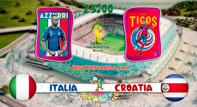 Dự đoán kết quả tỉ số trận đấu Italia – Costa Rica