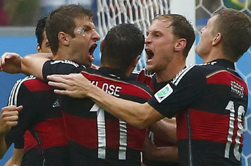 Kết quả tỉ số trận đấu Mỹ - Đức World Cup 2014