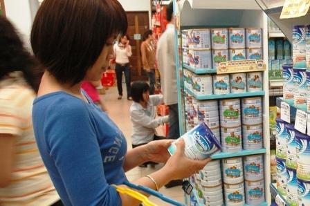 Thị trường sữa hiện đang bị chững lại do khách hàng nghe ngóng giá cả