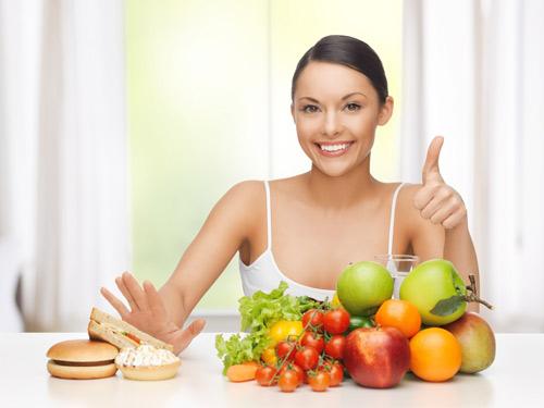 Để giảm cân hiệu quả cần có chế độ ăn uống khoa học