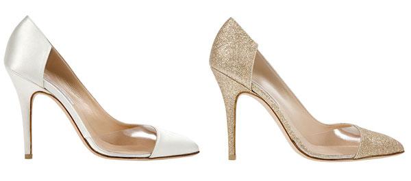 Giày cưới 2014 - giày mũi nhọn. Ảnh minh họa
