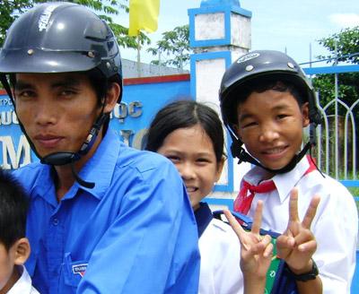 Hào Anh được đưa đến sống, học tập tại Trung tâm bảo trợ xã hội Cà Mau