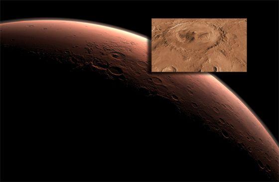 Hồ nước trên Sao hỏa đã từng tồn tại hàng triệu năm trước