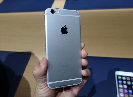 Mặt sau của chiếc iPhone 6 Plus