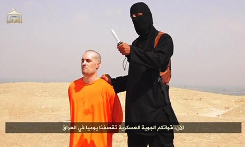 Khủng bố IS chặt đầu nhà báo người Mỹ