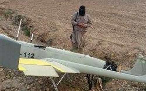 Hình ảnh về chiếc máy bay Iran mà khủng bố IS tự nhận bắn rơi ở Iraq