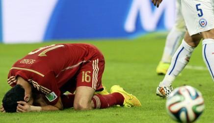 Kết quả tỉ số trận đấu Tây Ban Nha - Chile