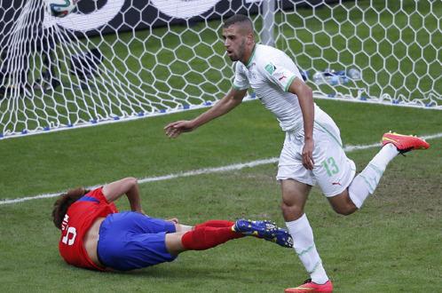 Kết quả tỉ số trận đấu Algeria – Hàn Quốc World Cup 2014
