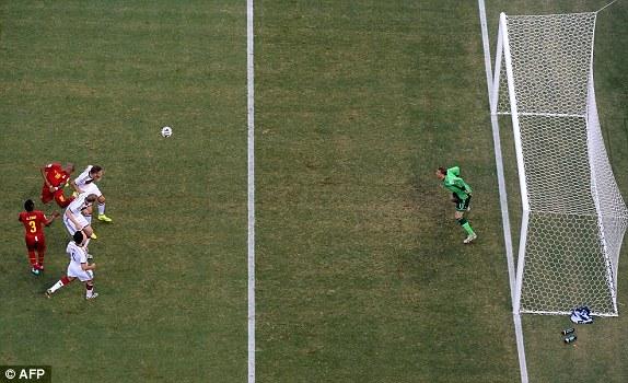 kết quả tỉ số trận đấu Đức - Ghana
