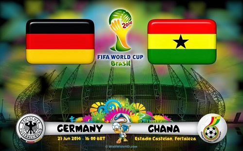 Kết quả tỉ số trận đấu Đức - Ghana World Cup 2014