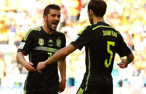 Kết quả tỉ số trận đấu Úc - Tây Ban Nha World Cup 2014: 0-3