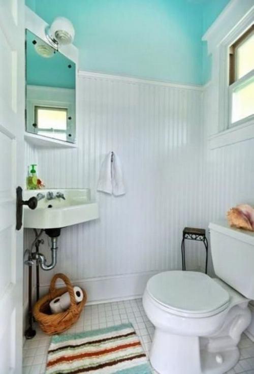 Bài trí phòng tắm nhỏ trở nên thoáng rộng - ảnh 1