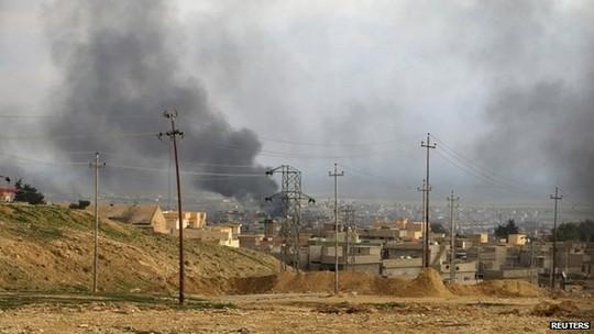 Liên quân do Mỹ dẫn đầu đã tiến hành nhiều đợt không kích chống khủng bố IS