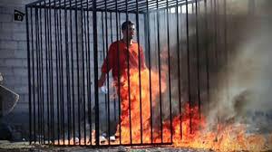 Khủng bố IS thiêu sống phi công Jordan trong một chiếc lồng sắt