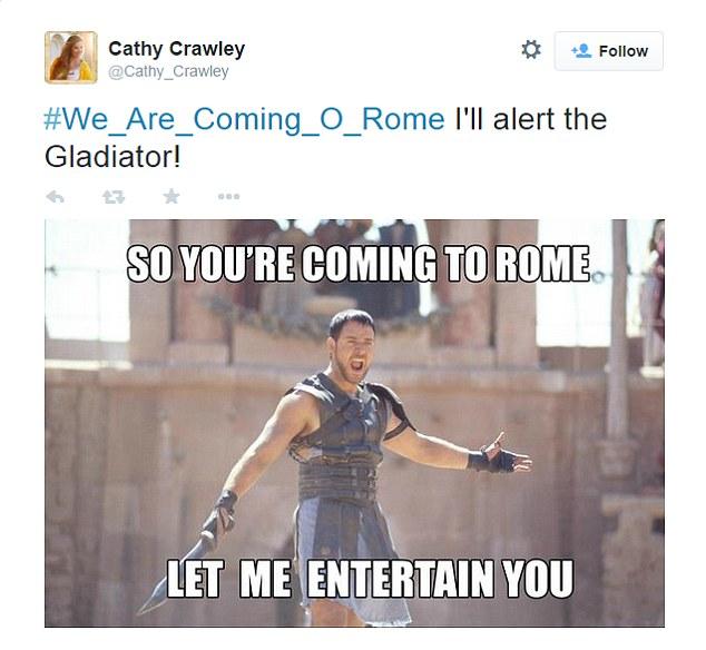 Một hình ảnh chế giễu bài đăng của nhóm khủng bố IS trên Tweeter