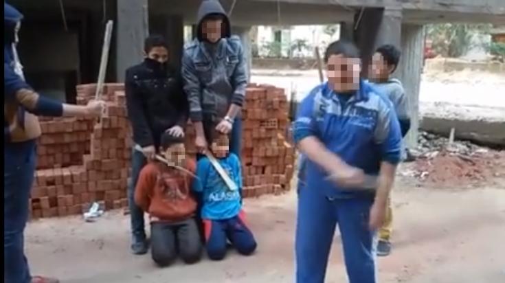 Hình ảnh trong đoạn video được khủng bố IS công bố