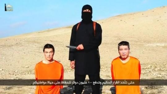 Hai con tin Nhật Bản bị khủng bố IS bắt giữ