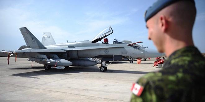 Máy bay chiến đấu CF-18 của không quân Canada