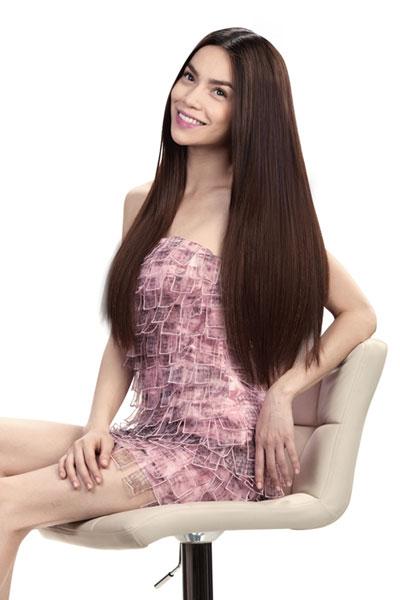 Tóc thẳng tự nhiên - Kiểu tóc không lỗi mốt qua mọi thời đại. Ảnh minh họa