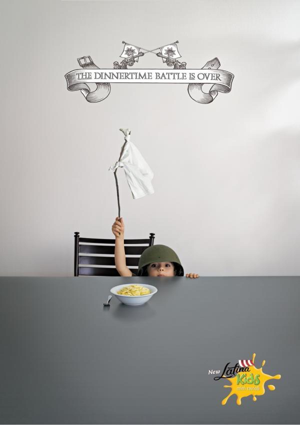 quảng cáo cho bé