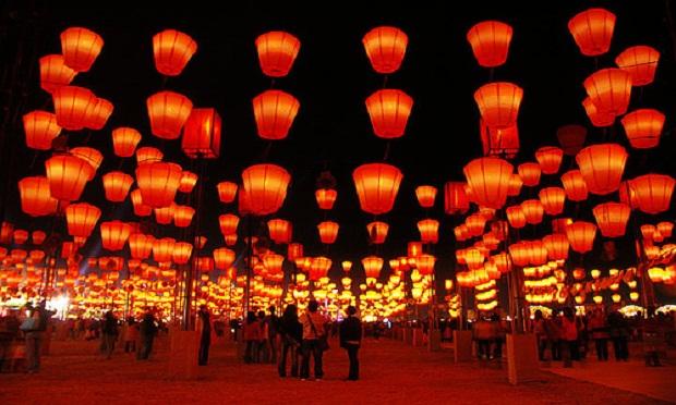Lễ hội đèn lồng là một trong các lễ hội tết nguyên đán lớn của người Đài Loan