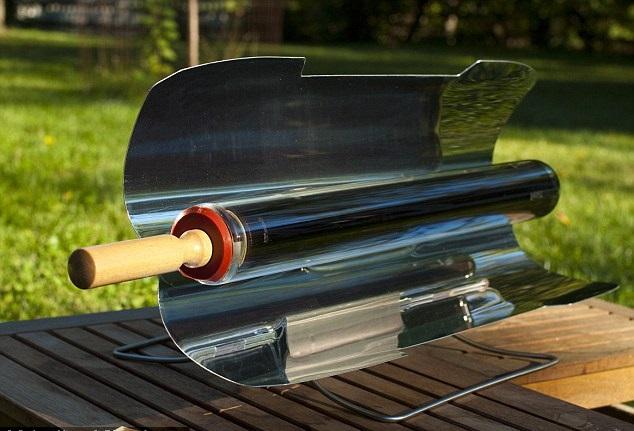 Phần ống hấp thụ ánh sáng mặt trời