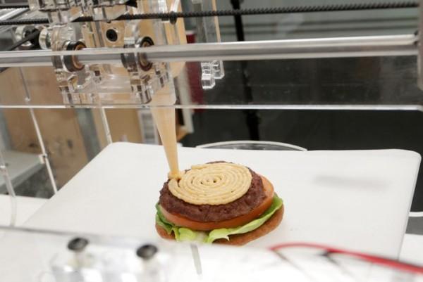 Một món ăn được chế tạo bởi máy in thực phẩm 3D