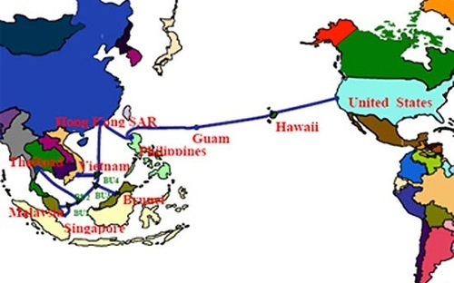 Mạng Internet Việt Nam chậm do đứt cáp quang biển