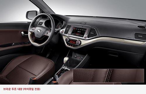 Kia Morning 2015 sẽ được trang bị hệ thống kiểm soát hành trình