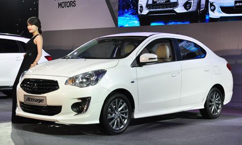 Với những ai muốn mua xe giá rẻ, hãy cân nhắc Mitsubishi Attrage 2014 với các tính năng ưu việt