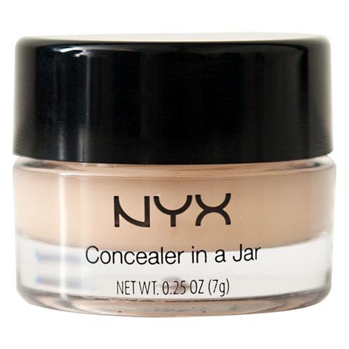 Mỹ phẩm giá rẻ là kem che khuyết điểm Concealer Jar dạng kem nén của NYX được bán với mức giá hấp dẫn khoảng 107 nghìn đồng