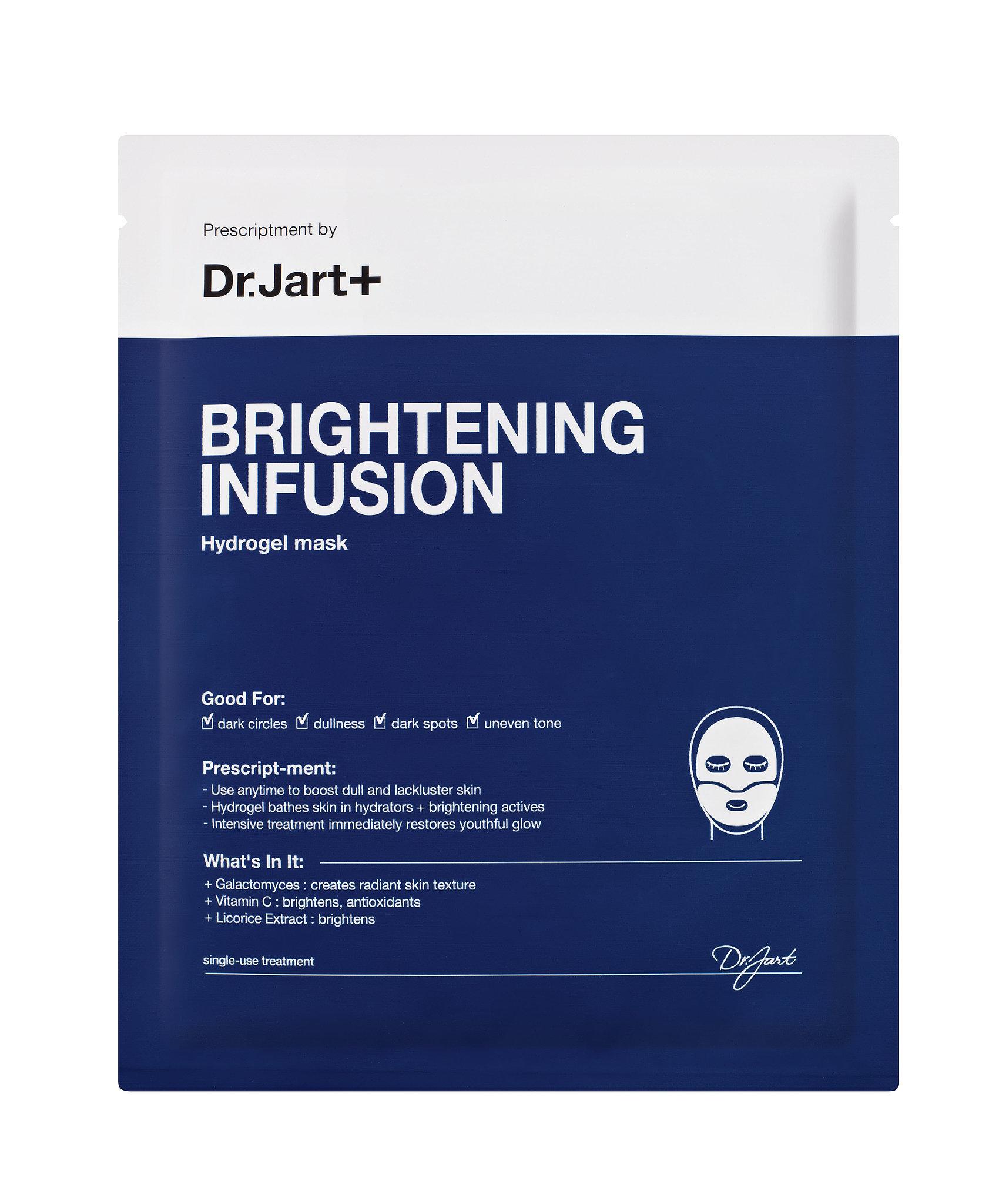 Mặt nạ Dr. jart + Brightening infusion hydrogel mask được nhiều chị em đánh giá là mỹ phẩm giá rẻ chất lượng tốt