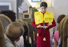 an toàn khi gặp tai nạn máy bay