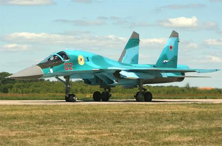 Máy bay ném bom thế hệ mới Su-34