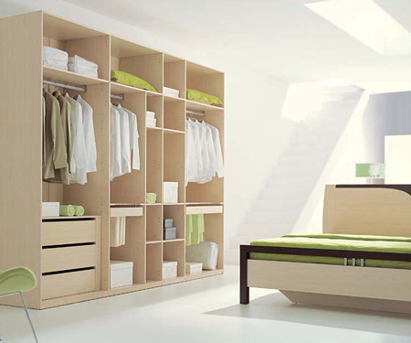Tủ quần áo cũng là một trong những nội thất phòng ngủ quan trọng. Ảnh minh họa