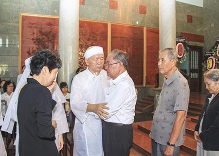 Một số hình ảnh về lễ tang của bà Võ Thị Thắng