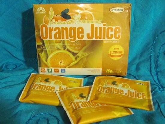 Nước ép trái cây giảm béo vị cam chứa thành phần độc hại