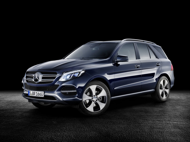 Ô tô Mercedes-Benz GLE-Class sẽ thay chân M-Class đảm đương nhiệm vụ cạnh tranh với Audi Q7, BMW X5