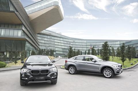 Ô tô BMW X6 2016 với kiểu dáng sang trọng, thể thao đầy cuốn hút