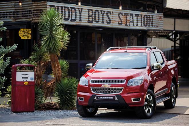 Ô tô Chevrolet Colorado High Country sang trọng và hiện đại