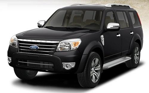 Ô tô 7 chỗ Ford Everest là mẫu xe được nhiều người ưa chuộng