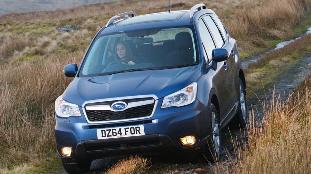 Ô tô Subaru Forester mới phiên bản 2015 với những nét mới nằm ở nội thất và thêm tuỳ chọn động cơ dầu số tự động