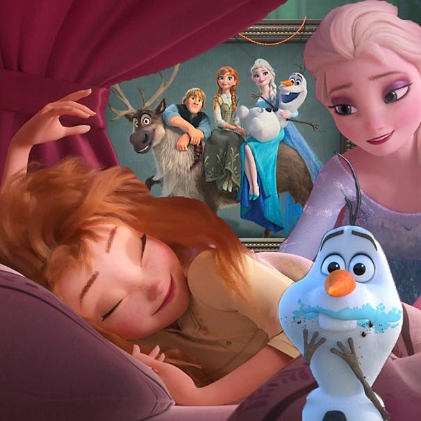 Nội dung phim ngắn Frozen Fever tiếp tục xoay quanh 4 nhân vật chính với nhiều tình huống hài hước