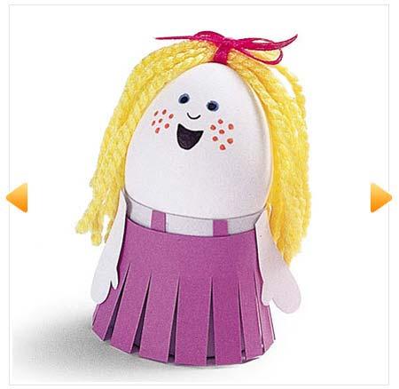 Quà tặng 1/6 cho bé từ vỏ trứng cực dễ thương